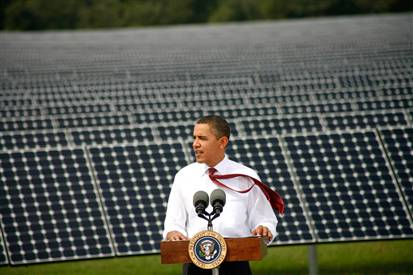 President Obama tells Americans that expensive power is good for them.